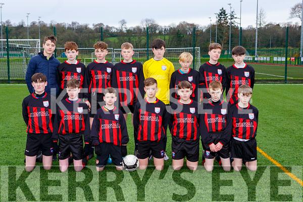 The Mastergeeha team that played Killarney Celtic  in Killarney on Saturday
