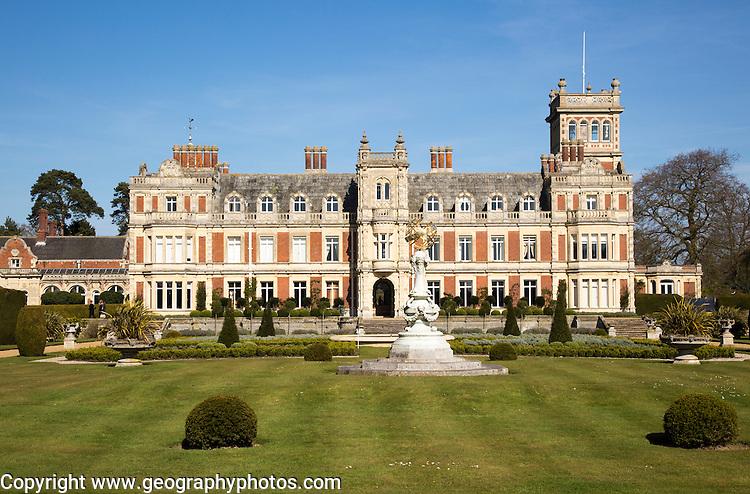 Somerleyton Hall country house, near Lowestoft, Suffolk, England, UK