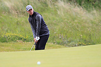 Soren Broholt Lind (DEN) on the 4th green during Round 1 of the The Amateur Championship 2019 at The Island Golf Club, Co. Dublin on Monday 17th June 2019.<br /> Picture:  Thos Caffrey / Golffile<br /> <br /> All photo usage must carry mandatory copyright credit (© Golffile | Thos Caffrey)