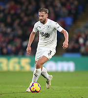 Burnley's Charlie Taylor<br /> <br /> Photographer Rob Newell/CameraSport<br /> <br /> The Premier League - Saturday 1st December 2018 - Crystal Palace v Burnley - Selhurst Park - London<br /> <br /> World Copyright &copy; 2018 CameraSport. All rights reserved. 43 Linden Ave. Countesthorpe. Leicester. England. LE8 5PG - Tel: +44 (0) 116 277 4147 - admin@camerasport.com - www.camerasport.com