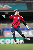 Josef Bursik of Accrington Stanley before Ipswich Town vs Accrington Stanley, Sky Bet EFL League 1 Football at Portman Road on 11th January 2020