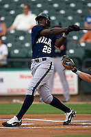 Maybin, Cameron 3017.jpg.  PCL baseball featuring the New Orleans Zephyrs at Round Rock Express  at Dell Diamond on June 19th 2009 in Round Rock, Texas. Photo by Andrew Woolley.