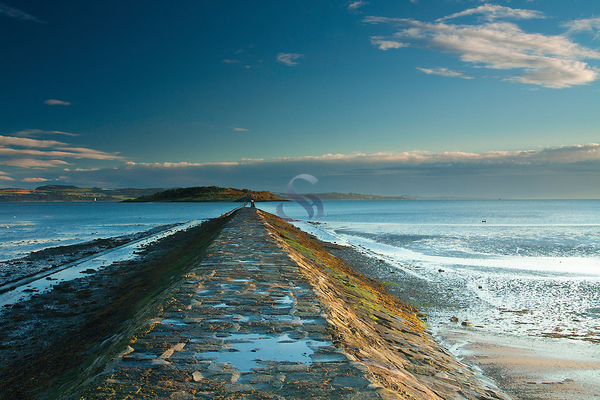 Cramond Island and Cramond Causeway, Cramond Foreshore, Lothian
