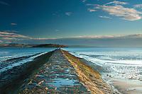 Cramond Island and Cramond Causeway, Cramond Foreshore, Lothian