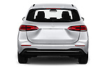 Straight rear view of 2019 Mercedes Benz B-Class - 5 Door Mini Mpv Rear View  stock images