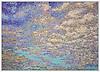 Custom 5' x 7' Impressionist Sky panel in Jewel Glass