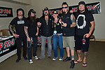 Tom Maxwell, Greg Tribbett, Vinnie Paul, Chad Gray, and Bob Zilla of Hellyeah perform at the Rock Vegas Music Festival at Mandalay Bay in Las Vegas, Nevada.