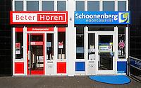 Twee concurrenten naast elkaar in Dordrecht. Beter Horen en Schoonenberg Hoorcomfort