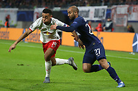 Tyler Adams of RB Leipzig and Lucas of Tottenham Hotspur during RB Leipzig vs Tottenham Hotspur, UEFA Champions League Football at the Red Bull Arena on 10th March 2020