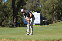 James Nitties (AUS) in action on the 1st during Round 2 Matchplay of the ISPS Handa World Super 6 Perth at Lake Karrinyup Country Club on the Sunday 11th February 2018.<br /> Picture:  Thos Caffrey / www.golffile.ie<br /> <br /> All photo usage must carry mandatory copyright credit (&copy; Golffile | Thos Caffrey)