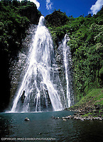 Mananwaiapuna Falls from the movie Jurassic Park