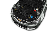 Car Stock 2016 Chevrolet SS 6.2 4 Door Sedan Engine  high angle detail view