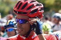 Alberto Contador before the stage of La Vuelta 2012 beetwen Penafiel-La Lastrilla.September 7,2012. (ALTERPHOTOS/Paola Otero) /NortePhoto.com<br /> <br /> **CREDITO*OBLIGATORIO** *No*Venta*A*Terceros*<br /> *No*Sale*So*third* ***No*Se*Permite*Hacer Archivo***No*Sale*So*third