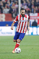 Atletico de Madrid´s Arda Turan during 16th Champions League soccer match at Vicente Calderon stadium in Madrid, Spain. March 11, 2014. (ALTERPHOTOS/Victor Blanco)