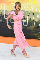 "LONDON, UK. July 30, 2019: Jacqui Ritchie at the UK premiere for ""Once Upon A Time In Hollywood"" in Leicester Square, London.<br /> Picture: Steve Vas/Featureflash"