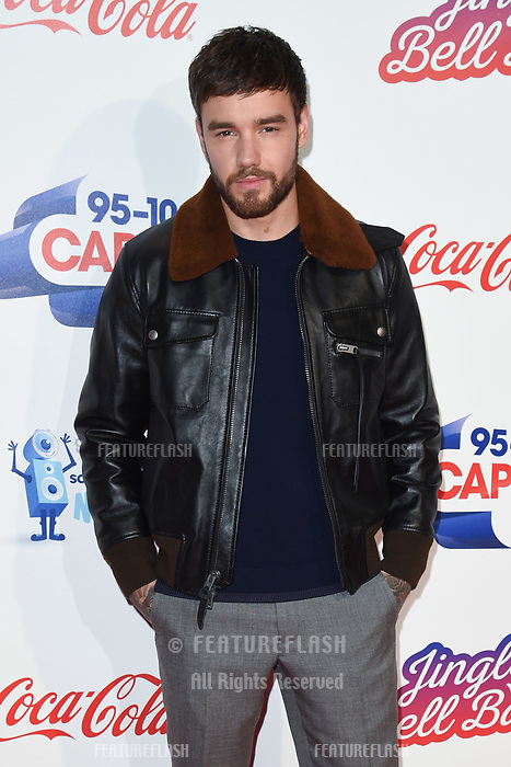 LONDON, UK. December 08, 2018: Liam Payne at Capital&rsquo;s Jingle Bell Ball 2018 with Coca-Cola, O2 Arena, London.<br /> Picture: Steve Vas/Featureflash