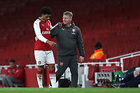 Xavier Amaechi of Arsenal leaves the field in the second half during Arsenal Youth vs Blackpool Youth, FA Youth Cup Football at the Emirates Stadium on 16th April 2018