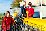 Moyvane Village Festival: Attending the Moyvane Village festival tractor rally on Sunday last were Patrick, Donnacha & Diarmuid O'Connor from Moyvane.
