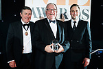 © Joel Goodman - 07973 332324 . 01/03/2018 . Manchester , UK . Law Firm of the Year – small (1-5 partners) winner is Bromleys Solicitors LLP . The Manchester Evening News Legal Awards at the Midland Hotel in Manchester City Centre . Photo credit : Joel Goodman