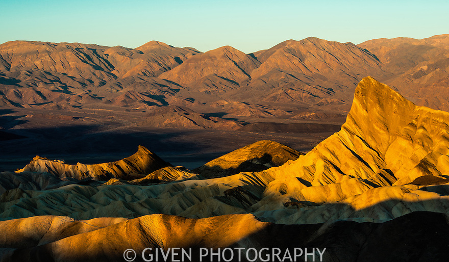 Sunrise, Zabriske Point, Death Valley National Park