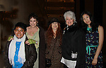 JJ Cepada & Louise Sorel & Jane Elissa & Loyita Chapel & Sandy Liu as they support the Broadway Extravaganza to honor the Candidacy of Artist Jane Elissa for the Leukemia & Lymphoma Society, Man & Woman of the Year on April 23, 2012 at the New York Marriott Marquis, New York City, New York.  (Photo by Sue Coflin/Max Photos)