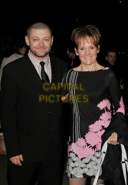 ANDY SERKIS .RTS Awards, Grosvenor House Hotel, Park Lane, .London, England, March 14th 2007..half length.CAP/AH.©Adam Houghton/Capital Pictures.