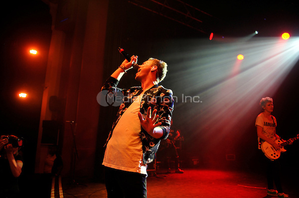 LONDON, ENGLAND - SEPTEMBER 1: Austin Corini of 'The Tide' performing at Shepherd's Bush Empire on September 1, 2016 in London, England.<br /> CAP/MAR<br /> &copy;MAR/Capital Pictures /MediaPunch ***NORTH AND SOUTH AMERICAS ONLY***