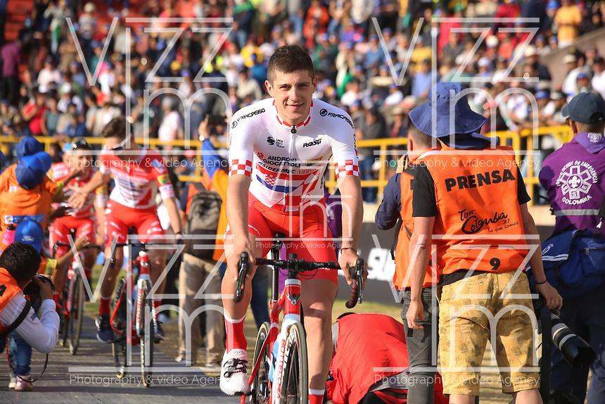 TUNJA - COLOMBIA, 11-02-2020: Equipo ANDRONI GIOCATTOLI - SIDERMEC (ITA) durante la primera del Tour Colombia 2.1 2020 que se correrá en Boyacá, Colombia entre el 11 y 16 de febrero de 2020. / Team ANDRONI GIOCATTOLI - SIDERMEC (ITA) during the launch of Tour Colombia 2.1 2020 that that will run between February 11 and 16, 2020 in Boyacá, Colombia.  Photo: VizzorImage / Darlin Bejarano / Cont