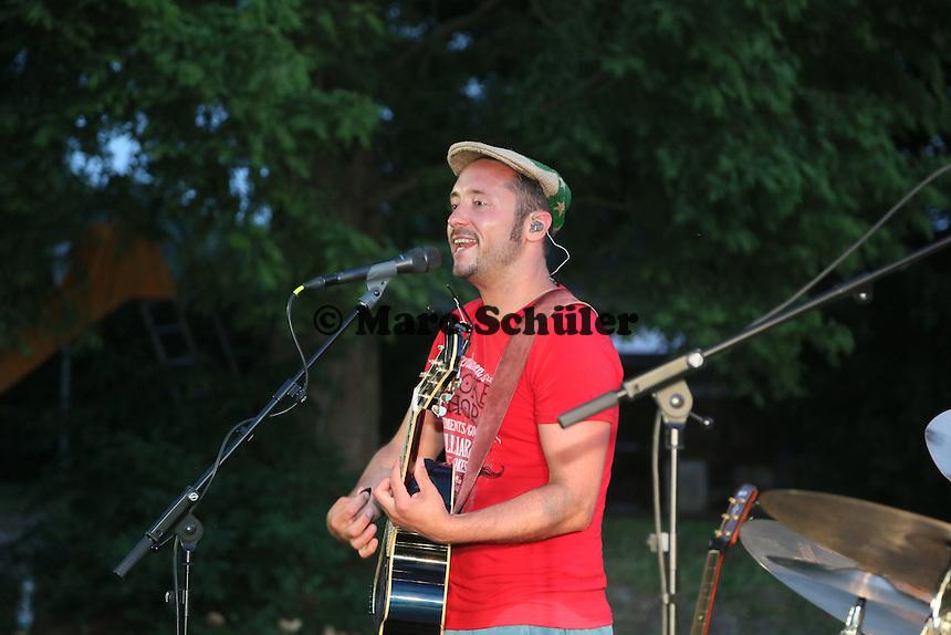 Auftritt Cris Cosmo beim Sommerabend am See im Kultursommer Südhessen