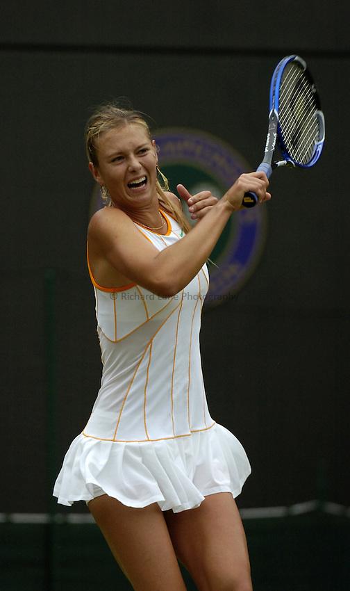 Photo. Jed Wee..Wimbledon Championships. 25/06/2005..Maria Sharapova.