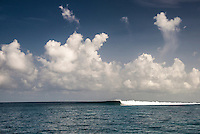 Four Seasons, Maldives (Wednesday, July 1, 2015) There was small south east swell across the island chain today with a number reef breaks producing clean waves. There was a boat session at Sultans in the North Male atolls this morning. The winds were light SE Trade.<br />  Photo: joliphotos.com