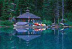 Emerald Lake Boathouse, Yoho NP, BC, Canada