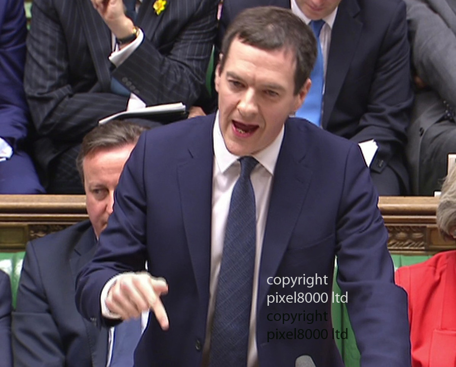 Pic shows: Budget 2016<br /> George Osborne delivers his budget.<br /> <br /> <br /> <br /> <br /> Picture by Pixel8000 07917221968