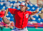 5 March 2013: Washington Nationals pitcher Zach Duke on the mound during a Spring Training game against the Houston Astros at Space Coast Stadium in Viera, Florida. The Nationals defeated the Astros 7-1 in Grapefruit League play. Mandatory Credit: Ed Wolfstein Photo *** RAW (NEF) Image File Available ***