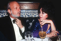 Hal Prince Liz Taylor1035.JPG<br /> Celebrity Archaeology<br /> 1978 <br /> New York, NY<br /> Hal Prince Liz Taylor<br /> Photo by Adam Scull/PHOTOlink/MediaPunch