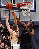 Bloomfield Hills at Clarkston, Boys Varsity Basketball, 2/25/14