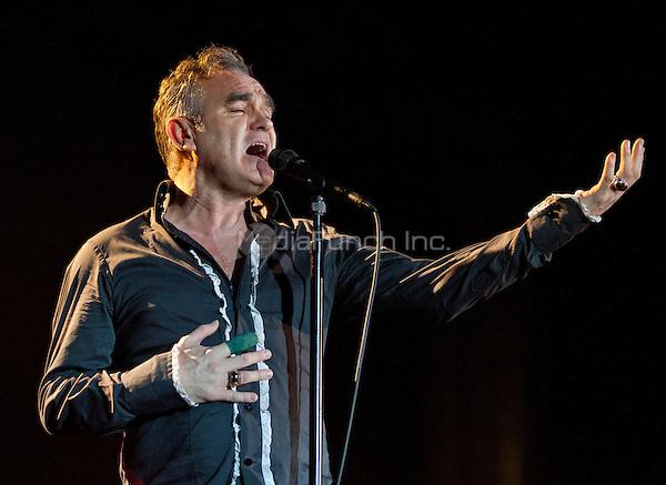 Morrissey performs at The Chelsea at The Cosmopolitan of Las Vegas in Las Vegas, NV on November 925 2011. © Erik Kabik / MediaPunch.***HOUSE COVERAGE***