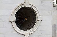 66512-00103 Round window on City Hall Building, Charleston, SC