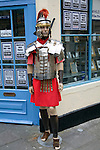 Roman soldier mannequin model, Bath