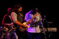 Saxophonist Dante Lewis and Jonathan Robinson