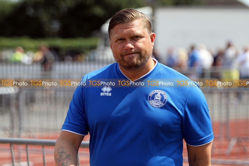Rod Stringer Manager of Chelmsford City during Chelmsford City vs Colchester United, Friendly Match Football at Melbourne Park on 23rd July 2016