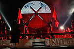 "October 5, 2010 New York: Singer Roger Waters performs ""The Wall"" at Madison Square Garden on October 5, 2010 in New York."