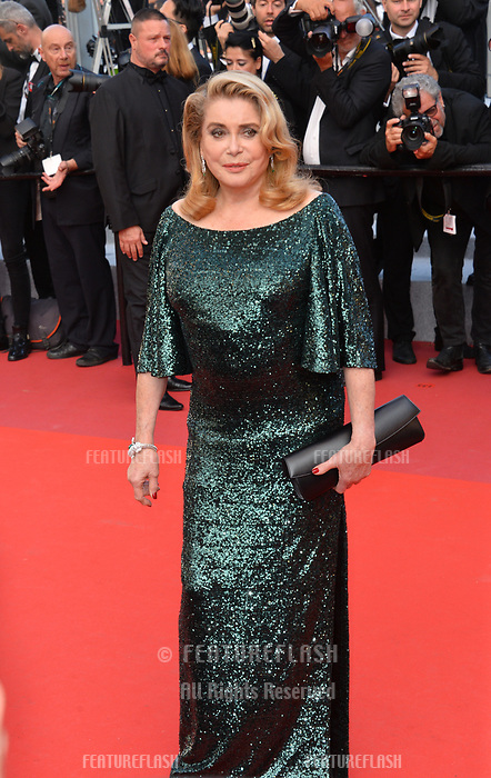 CANNES, FRANCE. May 25, 2019: Catherine Deneuve at the Closing Gala premiere of the 72nd Festival de Cannes.<br /> Picture: Paul Smith / Featureflash