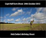 Copt Hall Farm Shoot  29th October 2013
