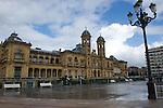 Vista exterior del Ayuntamiento de San Sebastian - Exterior view of the City of San Sebastian