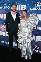 NEW YORK, NY - JUNE 11: Tessa Thompson and Chris Hemsworth  at World Premiere of Men in Black International at AMC Lincoln Square on June 11, 2019 in New York City. <br /> CAP/MPI99<br /> ©MPI99/Capital Pictures