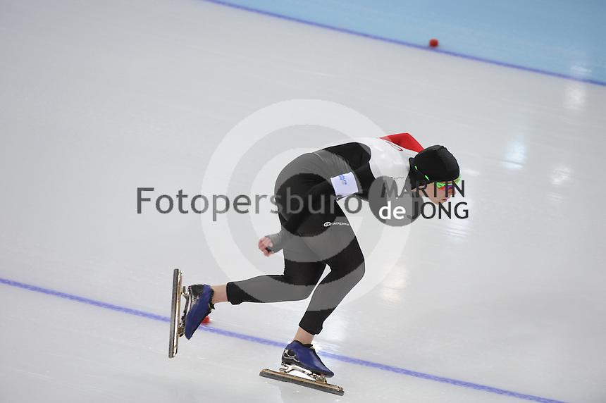OLYMPICS: SOCHI: Adler Arena, 16-02-2014, Ladies' 1500m, Christine Nesbitt (CAN), ©photo Martin de Jong
