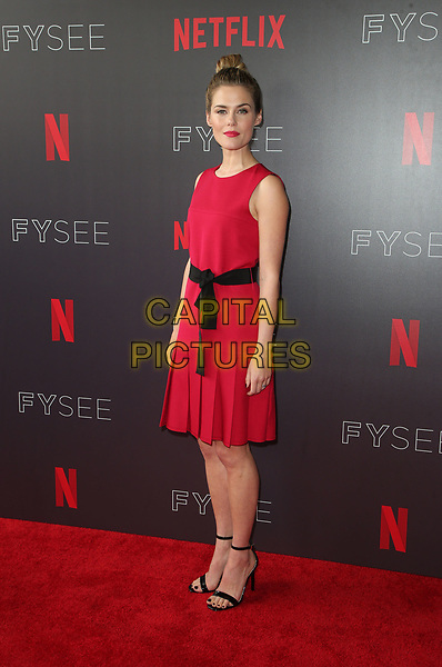 LOS ANGELES, CA - MAY 19: Rachel Taylor, at NETFLIX FYC Event for Marvel's Jessica Jones at NEFTLIX FYSEE at Raleigh Studios in Los Angeles, California on May 19, 2018.  <br /> CAP/MPIFS<br /> &copy;MPIFS/Capital Pictures