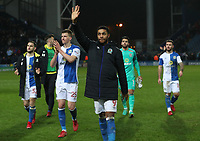 Blackburn Rovers' Dominic Samuel at the end of todays match<br /> <br /> Photographer Rachel Holborn/CameraSport<br /> <br /> The EFL Sky Bet League One - Blackburn Rovers v Shrewsbury Town - Saturday 13th January 2018 - Ewood Park - Blackburn<br /> <br /> World Copyright &copy; 2018 CameraSport. All rights reserved. 43 Linden Ave. Countesthorpe. Leicester. England. LE8 5PG - Tel: +44 (0) 116 277 4147 - admin@camerasport.com - www.camerasport.com