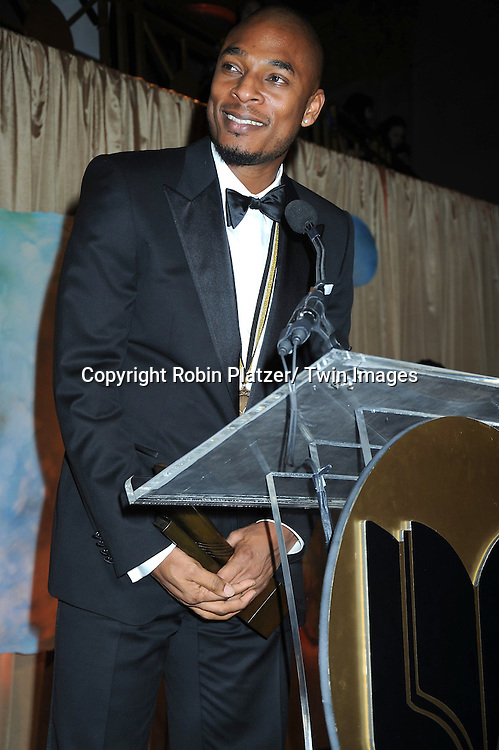 Poetry winner Terrance Hayes attending The 2010 National Book Awards on November 17, 2010 at Cipriani Wall Street in New York City.